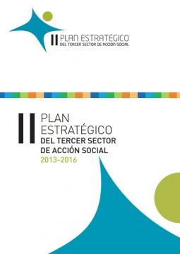 Portada del Plan Estratégico del Tercer Sector 2013-2014
