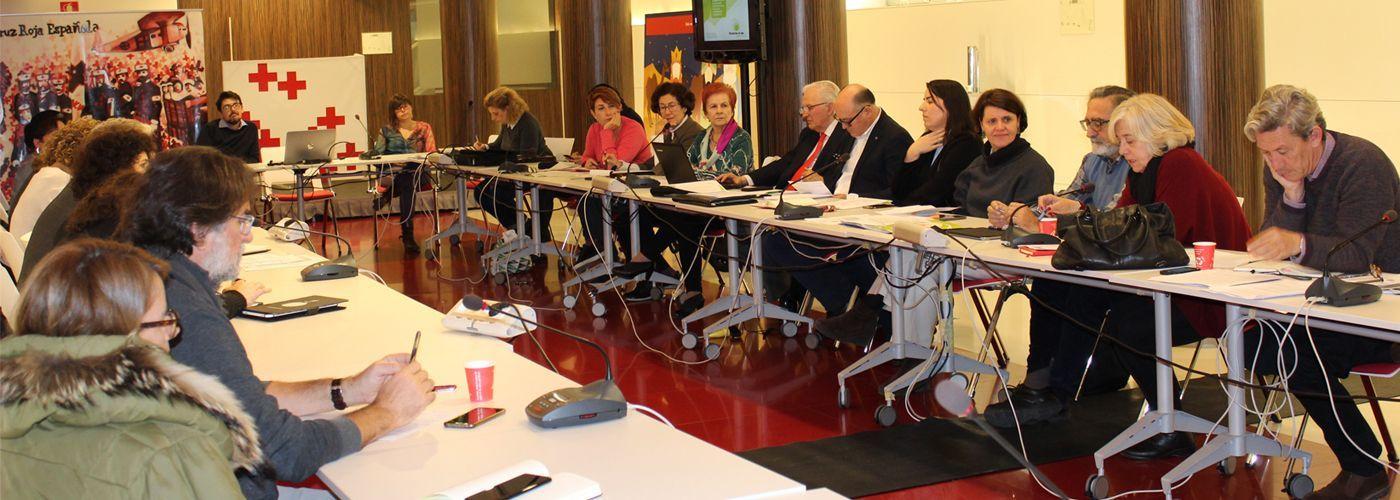 Imagen de la Asamblea de la Plataforma de ONG de Acción Social