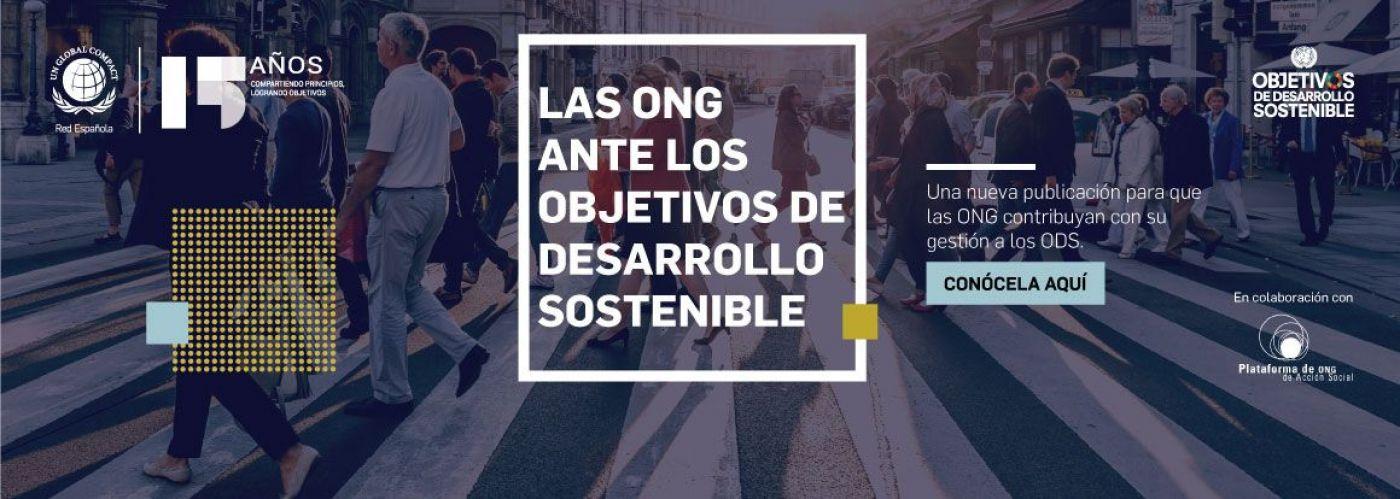 """Publicación """"Las ONG ante los Objetivos de Desarrollo Sostenible"""""""