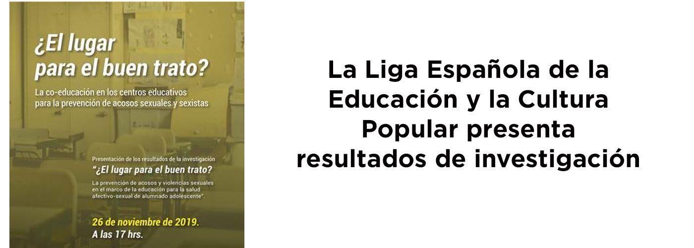 © Liga Española de la Educación y la Cultura Popular