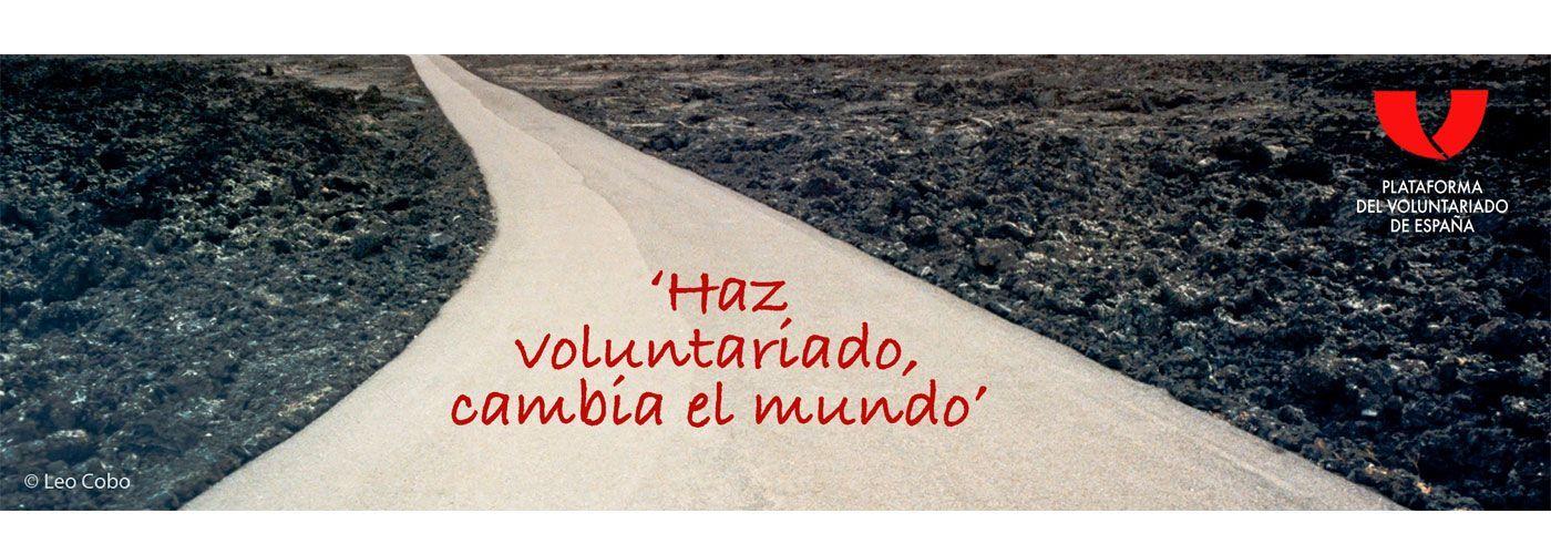 © Leo Cobo. Plataforma del Voluntariado de España