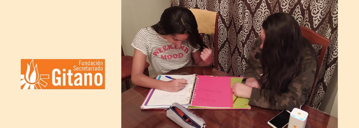 Aurora Jorge Vargas, alumna del Programa de Educación Promociona de la Fundación Secretariado Gitano, Cáceres.